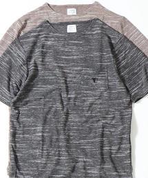 【着る消臭元】スラブボートネックTシャツ