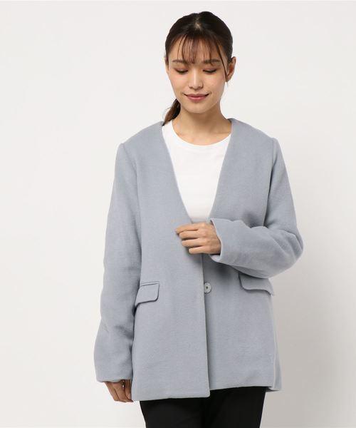 ウールモッサジャケット