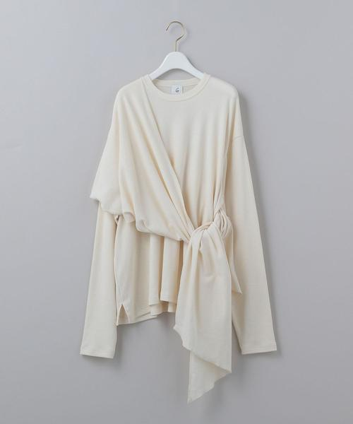 <6(ROKU)>STOLE PULLOVER/カットソー