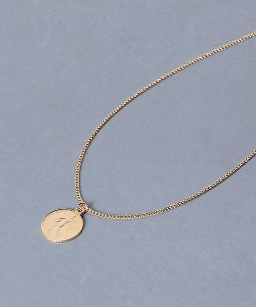 <BEN AMUN(ベンアムン)>COIN 52cm ネックレス