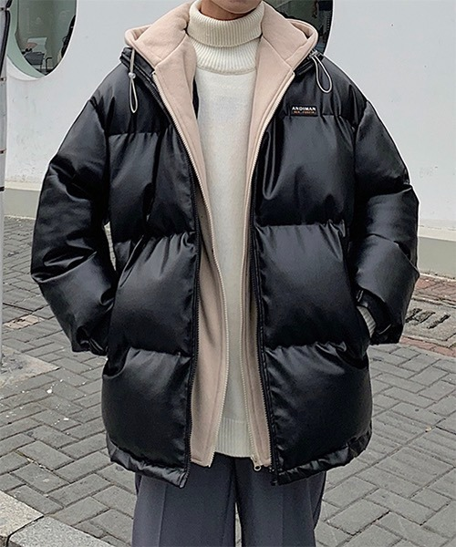 【WB ORIGINALS】【2021AW】Hoodie Quilting Down Jacket WO21W3HOT15