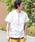 URBAN RESEARCH Sonny Label(アーバンリサーチサニーレーベル)の「JEMORGAN×SonnyLabel 度詰め天竺ビッグTシャツ(Tシャツ/カットソー)」|オフホワイト