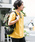 URBAN RESEARCH Sonny Label(アーバンリサーチサニーレーベル)の「JEMORGAN×SonnyLabel 度詰め天竺ビッグTシャツ(Tシャツ/カットソー)」|マスタード
