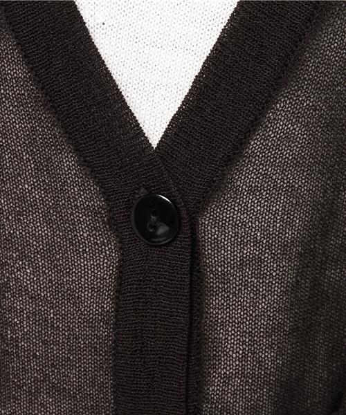羽織り方イロイロ!機能付ロングカーディガン