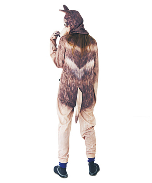 本当に動物がいるみたいな ワッと驚くリアルプリントの着ぐるみ<ボディー>
