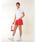 New Balance Golf(ニューバランスゴルフ)の「【new balance golf】シューズモノグラム半袖ポロシャツ (WOMENS METRO)(ポロシャツ)」|詳細画像