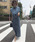 AMERI(アメリ)の「STUDS LINE DENIM SKIRT(スカート)」|詳細画像