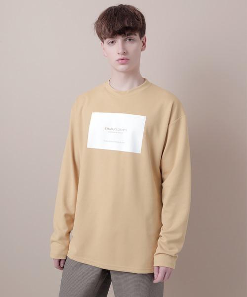 ポンチローマオーバーサイズロゴカットソー(EMMA CLOTHES)