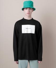 ポンチローマオーバーサイズロゴカットソー(EMMA CLOTHES)ブラック