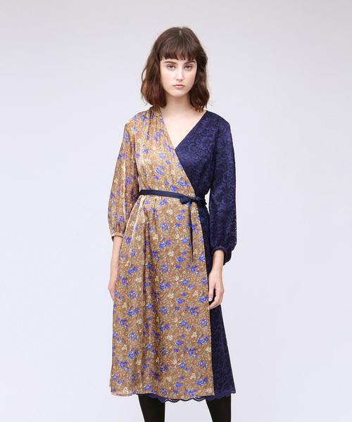 驚きの値段 WOMENS,ラブレスフラワーブロッキングドレス(ワンピース) LOVELESS(ラブレス)のファッション通販, キヨカワムラ:b9fd9507 --- 888tattoo.eu.org