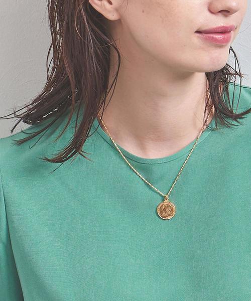 <BEN AMUN(ベンアムン)>COIN 42cm ネックレス