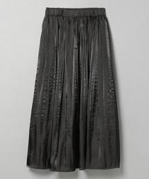 JEANASIS(ジーナシス)のシャイニーケシプリーツロングスカート/827520(スカート)