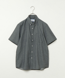 ikka(イッカ)の麻混イージーケアボタンダウンシャツ(シャツ/ブラウス)