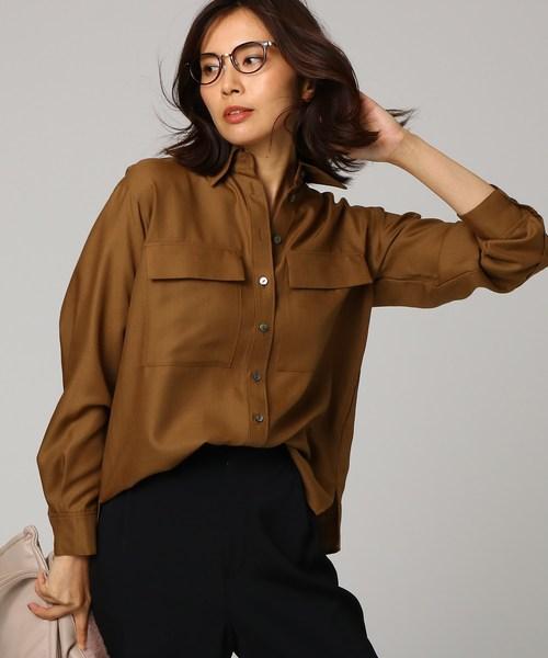 【日本限定モデル】 【洗える】ポリウールビエラWポケットシャツ(シャツ/ブラウス)|UNTITLED(アンタイトル)のファッション通販, sorfege:773e2d29 --- ulasuga-guggen.de