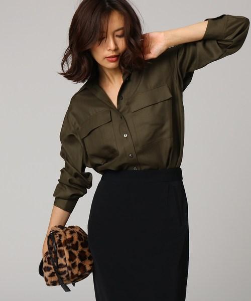 素敵な 【洗える】ポリウールビエラWポケットシャツ(シャツ/ブラウス)|UNTITLED(アンタイトル)のファッション通販, DIGIREX:5aa8e051 --- ulasuga-guggen.de