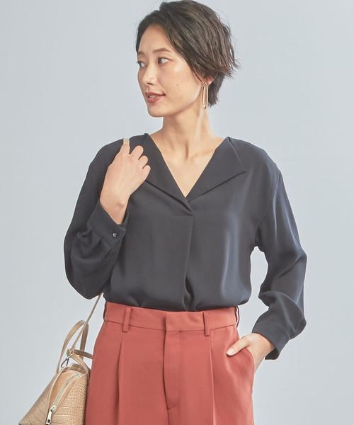 【WORK TRIP OUTFITS】BC カラー JKIN ブラウス