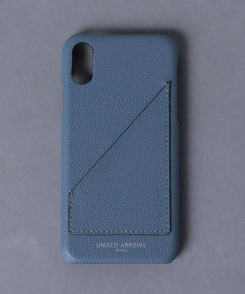 <UNITED ARROWS> マイクロファイバー I PHONE10 ケース