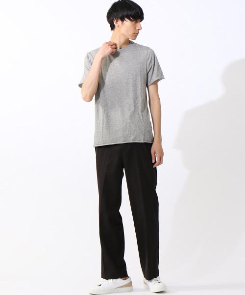 【ABAHOUSE×V::room/別注】VクルーネックTシャツ