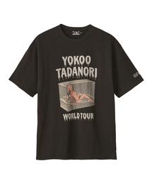 """YOKOO TADANORI/""""Y.T.WORLD TOUR #2"""" プリント Tシャツ"""