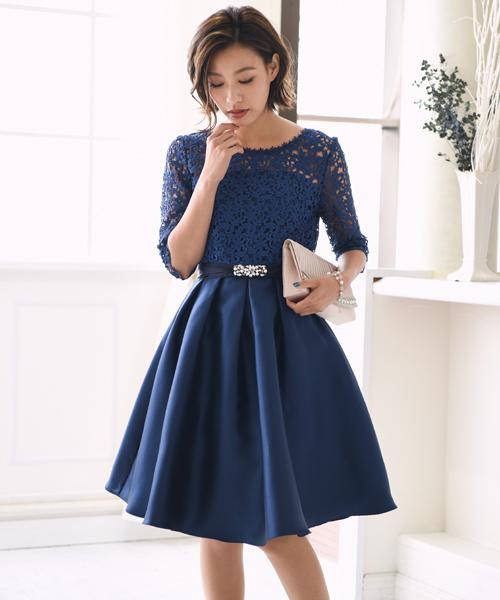 【数量は多】 【セール】レース切り替えフレアワンピース// 結婚式ワンピース・お呼ばれパーティードレス(ドレス)|kana(カナ)のファッション通販, こだわりの革 MARUYA selection:6ee507c0 --- blog.buypower.ng