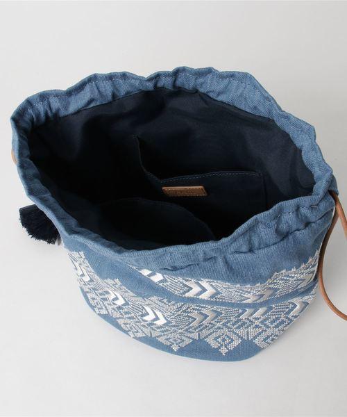 カカトゥ kakatoo / エンブロイダリー巾着バッグ