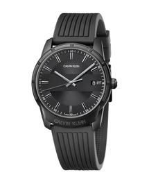 CALVIN KLEIN WATCHES+JEWELRY(カルバン・クライン ウォッチ&ジュエリー)の[カルバンクライン] CALVIN KLEIN 腕時計 Evidence(エビデンス) 3針 ブラック×ブラック(腕時計)