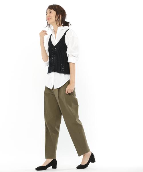 ピンオックスベーシックシャツ / LAKOLE