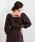 EMMEL REFINES(エメル リファインズ)の「【EMMEL REFINES】〔ハンドウォッシャブル〕SMF H/W リネン バックリボン 7分袖 ブラウス(シャツ/ブラウス)」 ブラウン