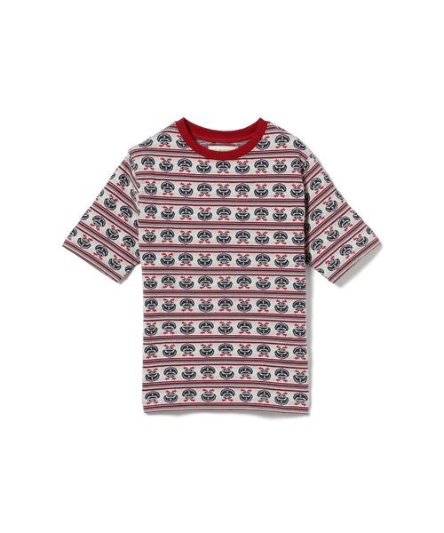 BEAMS BOY / マリン ジャカード Tシャツ