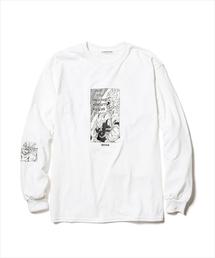 F-LAGSTUF-F(フラグスタフ)のF-LAGSTUF-F×DRAGONBALL/フラグスタッフ×ドラゴンボール/SUPER SAIYANS L/S Tee/スーパーサイヤ人ロングスリーブTシャツ(Tシャツ/カットソー)