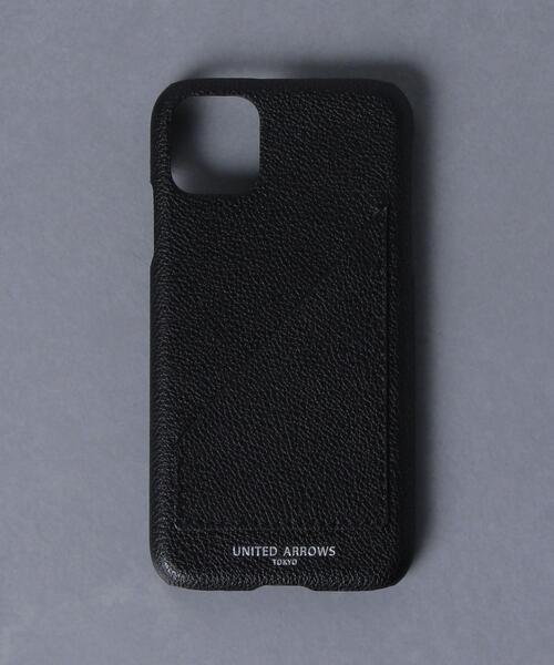 <UNITED ARROWS> マイクロファイバー I PHONE11 ケース