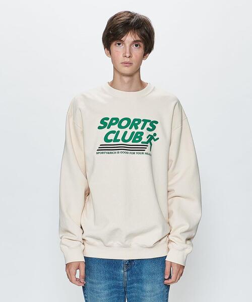 <SPORTY&RICH> SPORTS CLUB SWT CN/スウェット