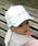 LITTLE GRIN BUDDY(リトル グリンバディ)の「【LITTLE GRIN BUDDY(リトルグリンバディ)】ベビー キャット耳付きキャップ/Cat Ear Cap(キャップ)」|詳細画像