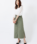 INTERPLANET | 【LEE】LACE-UP-SKIRT(スカート)