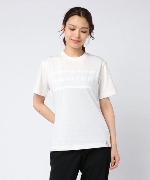 【HUNTER/ハンター】WOMENS ORIGINAL T- SHIRT WRJ1075JAS HUT