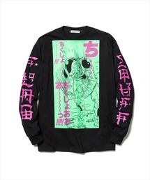 F-LAGSTUF-F×DRAGONBALL/フラグスタッフ×ドラゴンボール/FRIEZA L/S T-Shirts/フリーザロングスリーブTシャツ(Tシャツ/カットソー)