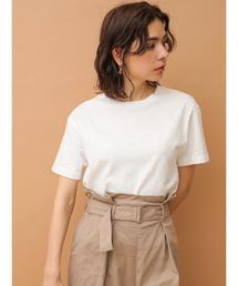 SEVENDAYS=SUNDAY(セブンデイズサンデイ)の・USAコットン 半袖Tシャツ○(Tシャツ/カットソー)