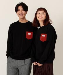 【女性にもオススメ】SMITH別注ポケットスウェットクルーネック19FW(一部WEB限定カラー)