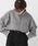 kutir(クティール)の「クラシックチェックシャツ(シャツ/ブラウス)」|グレー