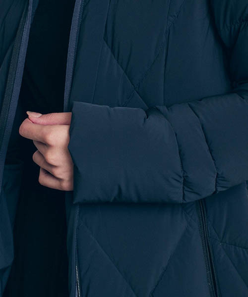 LAUTREAMONT(ロートレアモン)の「【WEB別注】エアロフリーネオ 4WAYストレッチ ロングダウンコート(ダウンジャケット/コート)」|詳細画像