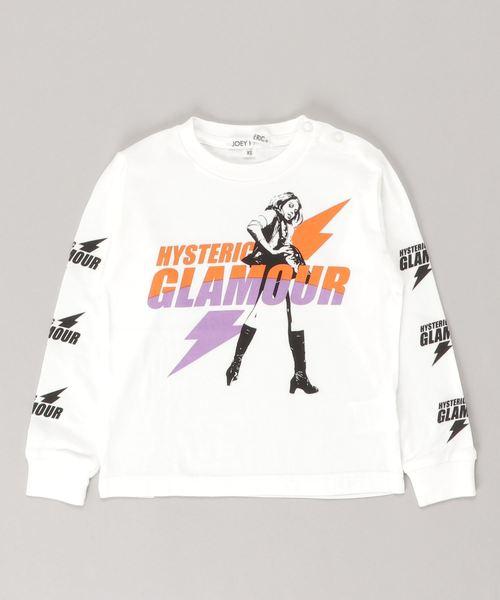 ELECTRIC LADY pt リブ付Tシャツ【XS/S/M】