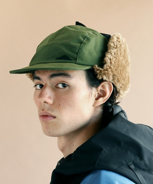 【MOUNTAIN SMITH/マウンテンスミス】2019AW RE NYLON EARS CAP