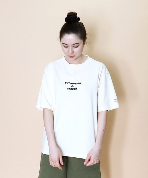 【 MONT KEMMEL / モンケメル 】SS EMBROIDELY TEE 刺繍 ロゴ Tシャツ