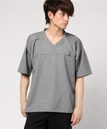 Elephant Blanc(エレファンブラン)のElephant Blanc/エレファンブラン/別注スーパー140'sホッケーTee(Tシャツ/カットソー)