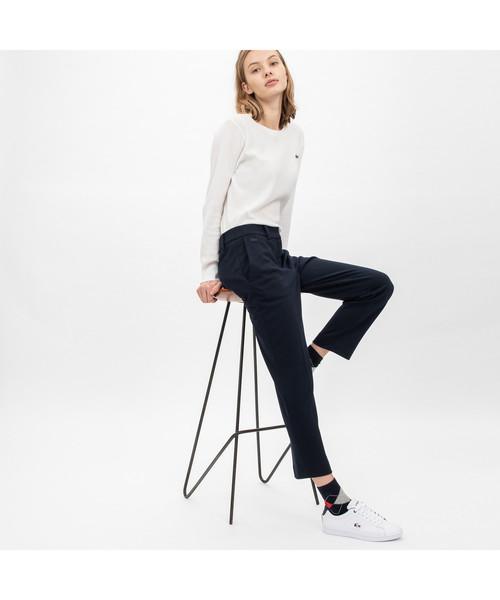 激安特価 【セール】ポンチ素材スラックス(パンツ) LACOSTE(ラコステ)のファッション通販, 渥美郡:906d4303 --- skoda-tmn.ru