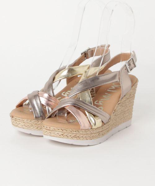 高質で安価 【Oh!My Sandals】metallicクロスストラップサンダル(サンダル)|Aleanto(アレアント)のファッション通販, スーツケースとかばんのムーク:ec792143 --- pyme.pe