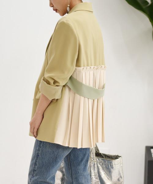 【Eimee Law】バックプリーツジャケット