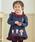 ANPANMAN KIDS COLLECTION(アンパンマンキッズコレクション)の「【アンパンマン】チェックバックシャン長袖T(Tシャツ/カットソー)」|ネイビー