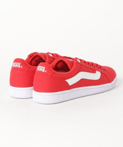 red white vans