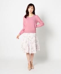 MISCH MASCH(ミッシュマッシュ)の花柄スカート(スカート)